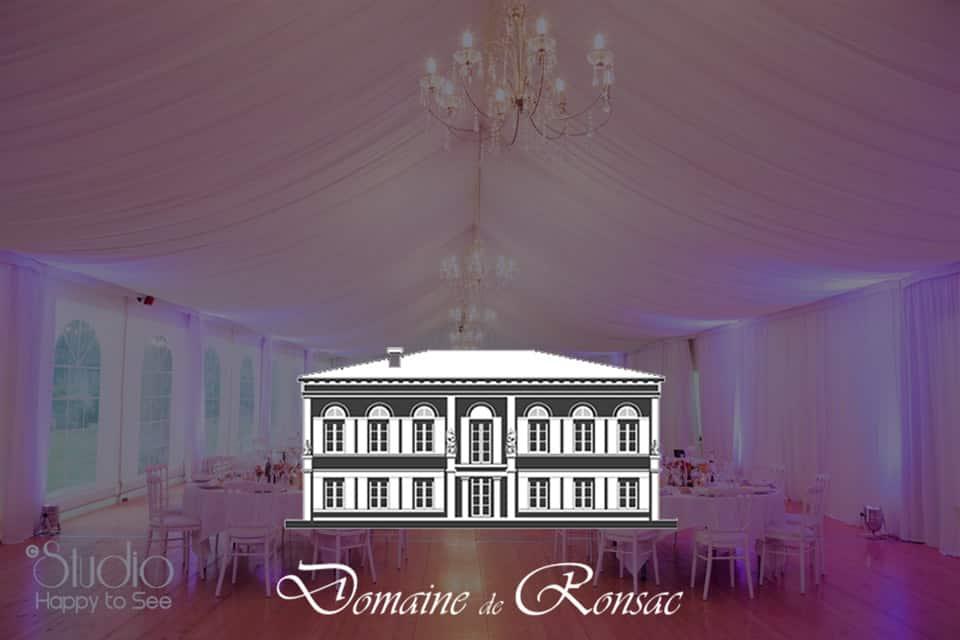 Jardin de Ronsac - Salle de réception